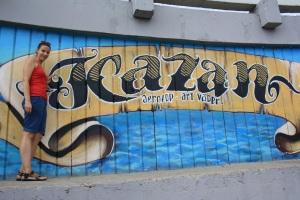 Grafiti de Kazan