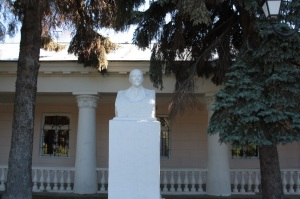 Busto de Lenin. En casi todas las grandes ciudades en Rusia se puede encontrar una estatua dedicada a Lenin