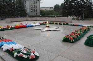 Monumento a los caidos en la II Guerra Mundial