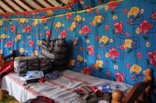 Durmiendo en un yurta en Mongolia