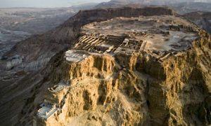 Antigua fortaleza romana, centro de resistencia del judaísmo contra la ocupación romana
