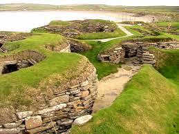 Ciudad Prehistórica en Escocia que desapareció tragada parcialmente por el mar