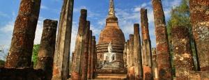 Pierdete por los vestigios de los templos budistas en Tailandia