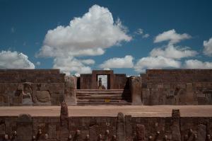 La capital del otrora poderoso imperio de Tiwanaku