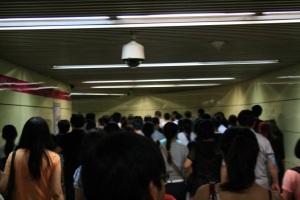 El último metro en Pekín, que más o menos es igual al primero, el segundo y a todos de lunes a domingo