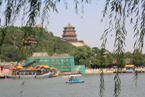 Palacio de verano con su colina, templo y palacio