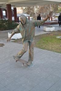 Estatua en la ciudad