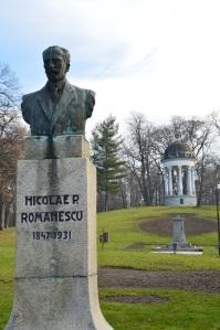 Entrada al parque Nicolae Romanescu