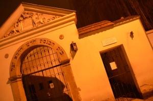 Kazimierz por la noche