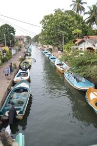 Canal en Negombo