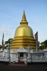 Pagoda en el templo
