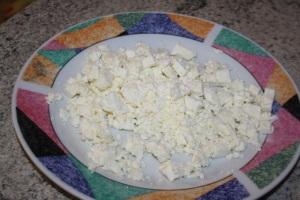 Queso fresco, brânza de Rumanía