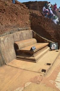 Trono real Sigiriya