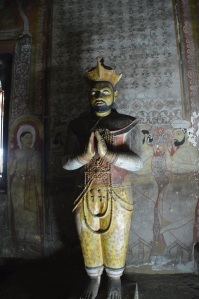 Estatua de Vattagamini, Dambulla