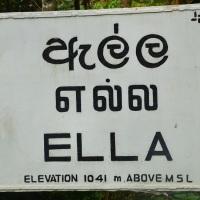 Un pueblecito perdido en las montañas de Sri Lanka: Ella