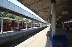Esperando al tren