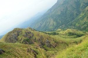 Vista desde el pequeño pico de Adan