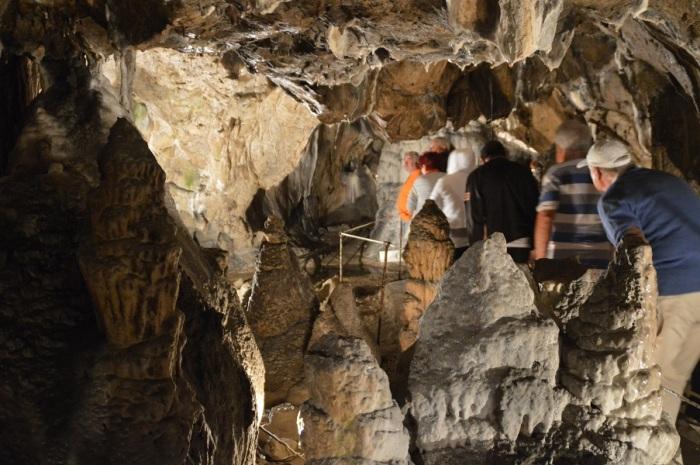 Es una estalactita o una estalagmita - Its a stalactite or stalagmite