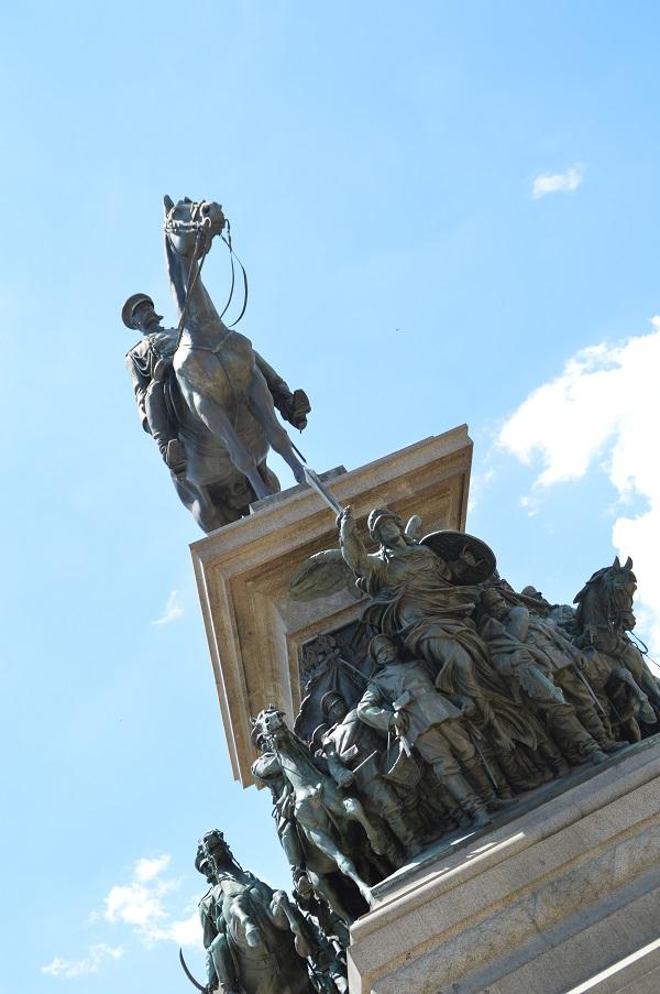 Estatua del zar - Tsar statue