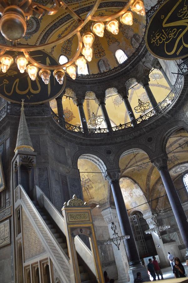 Interior Hagia Sofia