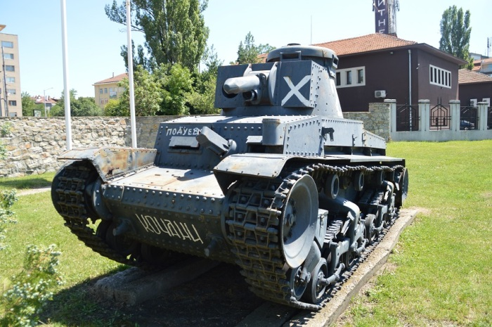Tanque checo... Czech tank...