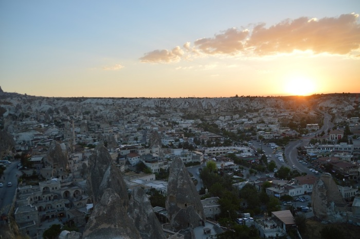 atardecer in Goreme - Sunset in Goreme