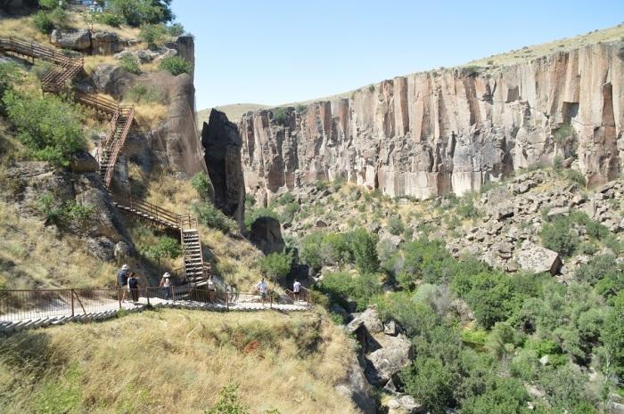 cañon del valle de Ihlara - Ihlaras valley canyon