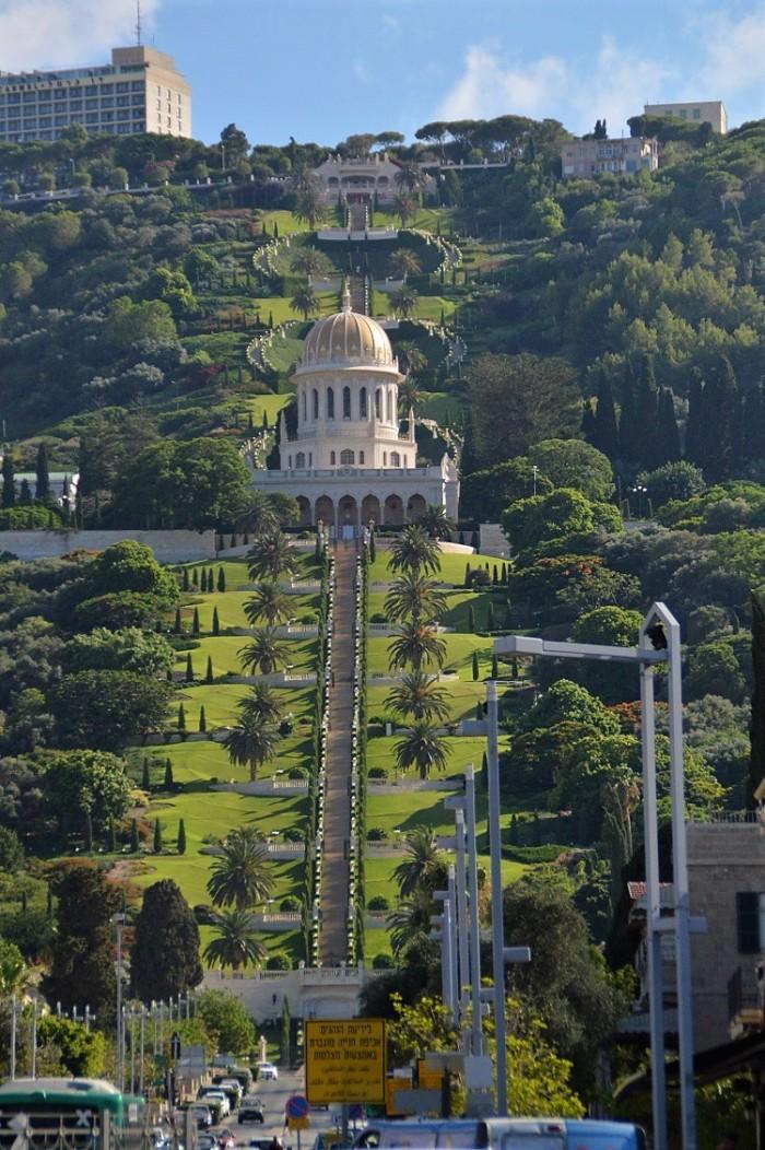 Jardines en Haifa - Gardens in Haifa