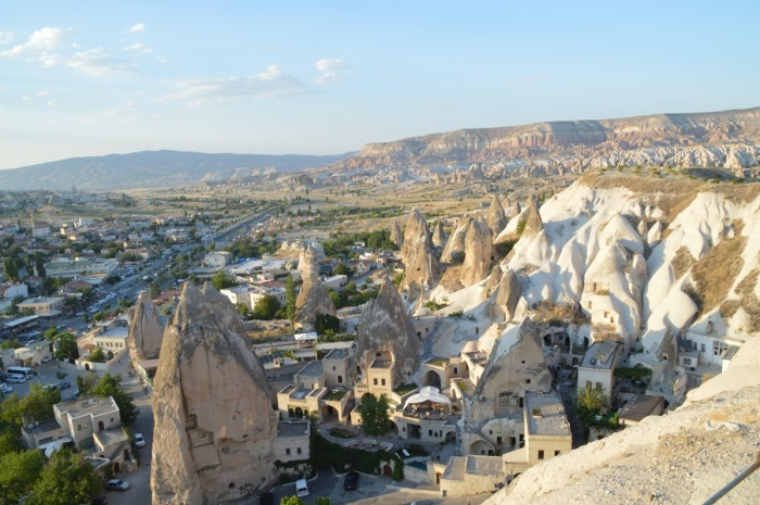 lugar para ver el atardecer en Goreme - place to see the sunset in Goreme