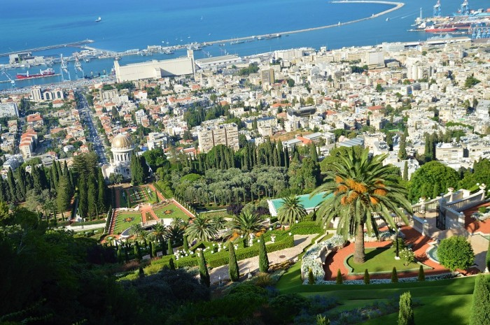 Vista de Haifa - View of Haifa