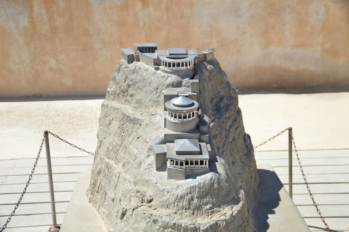 Maqueta del palacio - Scale model of the palace