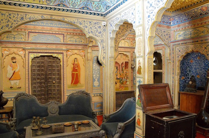 Salon del haveli - Haveli's saloon