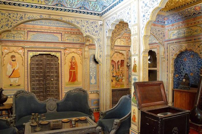 Salon del haveli - Haveli's saloon